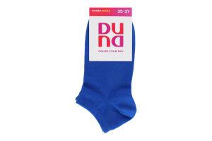 Шкарпетки жіночі Duna №12B-307 21-23 волошковий