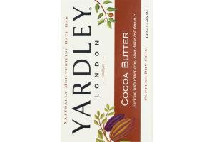 Yardley Moisturizing Bath Bar Cocoa Butter