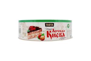 Торт воздушно-ореховый с фундуком Легенда Киева Tarta к/у 900г