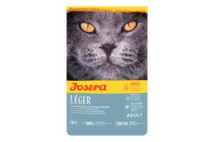 Корм сухой для взрослых котов Leger Josera 10кг