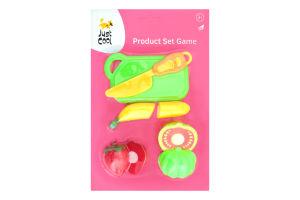 Набор игрушек для детей от 3лет №2014-4В Продукты Just Cool 1шт