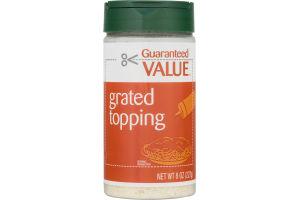 Guraranteed Value Grate Topping