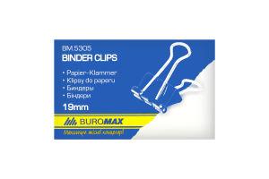 Биндер 19мм (12шт) 490055 Skiper