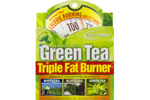 Applied Nutrition Green Tea Maximum Strength Triple Fat Burner Dietary Supplement Liquid Soft Gels - 30 CT