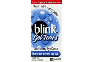 Blink Gel Tears Lubricating Eye Drops Moderate-Severe Dry Eye