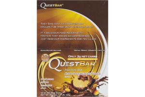 QuestBar Protein Bar Chocolate Peanut Butter - 12 CT