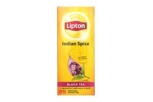 Чай черный с ароматом индийских специй Indian Spice Lipton к/у 25х2г