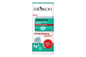 Емульсія проти жирного блиску Проблемна шкіра Біокон 75мл