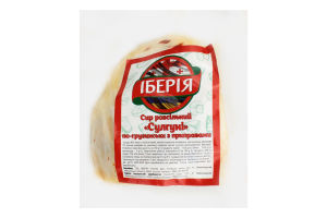 Сир 40% розсільний по-грузинськи з приправами Сулугуні Іберія кг
