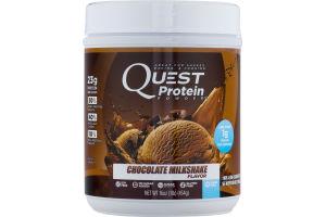 Quest Protein Powder Chocolate Milkshake Flavor