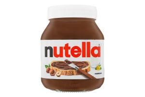 Паста горіхова з какао Nutella с/б 630г