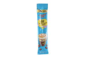 Напій кавовий розчинний Якобз 3в1 Карамель Латте з цукром, підсолоджувачем та смаком карамелі 12,3г