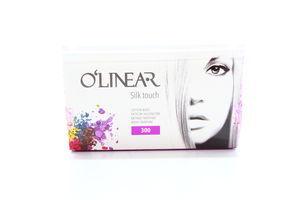 Палочки ватные Silk touch O'Linear 300шт