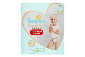 Подгузники трусики pants 12-17кг Premium Care Pampers 34шт