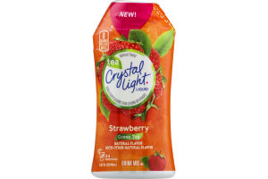 Crystal Light Liquid Drink Mix Strawberry Green Tea