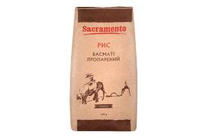 Рис пропарений Басматі Sacramento м/у 500г