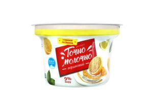 Десерт 9% сливочный Лимон Точно Молочно ст 180г