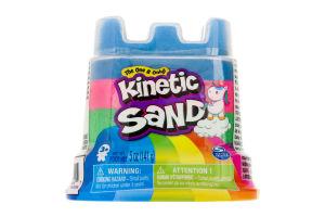 Пісок для творчості для дітей від 3 років №71477 Міні-фортеця Kinetic Sand 141г