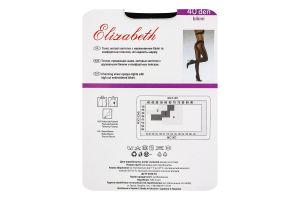Колготки жіночі Elizabeth Bikini 40den 3 nero