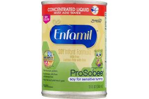 Enfamil ProSobee Soy Infant Formula Concentrated Liquid