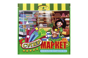 Игра настольная для детей от 3лет Супермаркет Київська Фабрика Іграшок 1шт