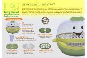 Magic Bullet Baby Bullet Turbo Steamer