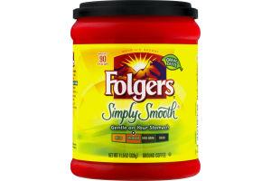 Folgers Simply Smooth Medium Ground Coffee