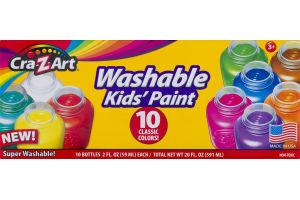 Cra-Z-Art Washable Kids' Pain - 10 CT