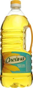 Олія соняшникова рафінована Пресова Олейна п/пл 1.8л