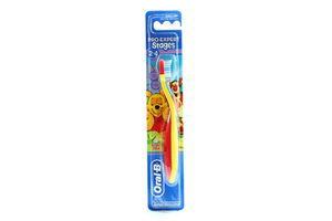 Зубная щётка детская экстра мягкая Pro-Expert Stages 2-4 года Oral-B 1шт