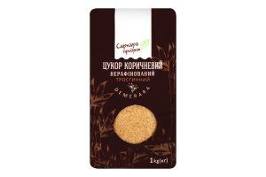 Сахар коричневый нерафинированный тростниковый Demerara Саркара продукт м/у 1кг