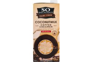 So Delicious Dairy Free Coconutmilk Coffee Creamer Barista Style Original