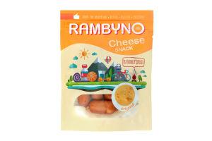 Сир 45% плавлений копчений оригінальний Rambyno д/п 75г