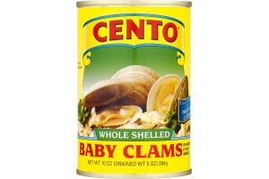 Cento Whole Shelled Baby Clams