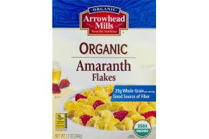 Organic Arrowhead Mills Naturally Nutritious Organic Amaranth Flakes