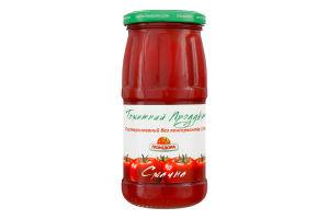 Продукт томатный 15% пастеризованный Вкусная Помідора с/б 450г