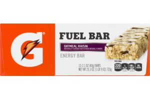 Gatorade Fuel Bar Oatmeal Raisin - 12 CT