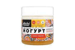 Йогурт 6% Манго-персик Nashé 180г