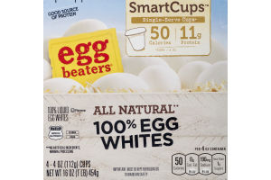 Egg Beaters SmartCups All Natural 100% Egg Whites - 4 CT