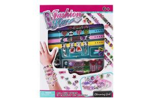 Набір ігровий для дітей від 6років для створення прикрас Браслет модниці №868-46 Jiali 1шт