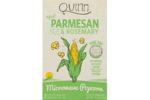 Quinn Parmesan & Rosemary Microwave Popcorn - 2 CT