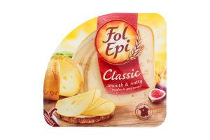 Сир 50% напівтвердий Classic Fol Epi п/у 150г