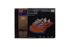 Пазл Ling Le Si 3D Сиднейский Оперный Театр 103001