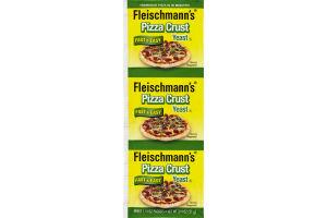 Fleischmann's Pizza Crust Yeast Fast & Easy - 3 CT