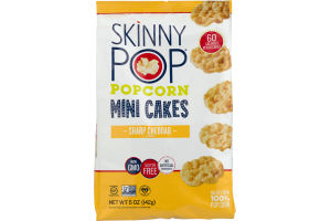 SkinnyPop Popcorn Mini Cakes Cheddar