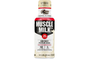 Muscle Milk Non Dairy Protein Shake Cookies 'n Creme