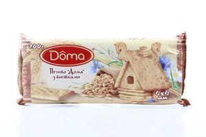Печиво ЖЛ Doma з висівками 200г х19