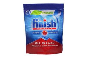FINISH засіб д/миття посуду 22 таб. AIO