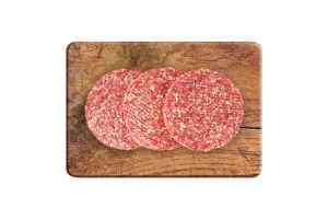 Бургер европейский из говядины деликатесной охлаж