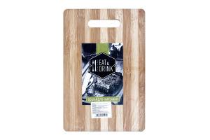 Доска разделочная Eat&Drink бамбук 20*30см D-001